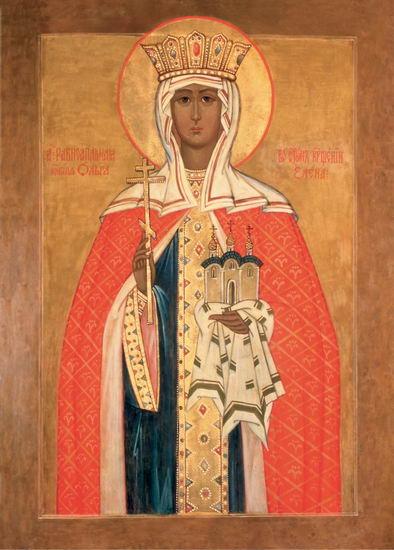 Первая русская святая