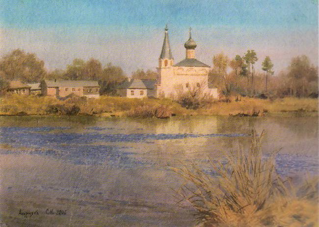 Сергей АНДРИЯКА. Гороховец весной