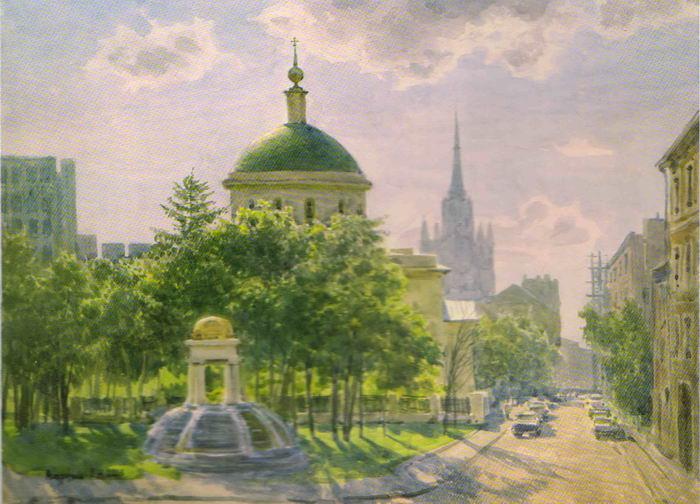 Сергей Андрияка. Москва. Церковь Большого Вознесения