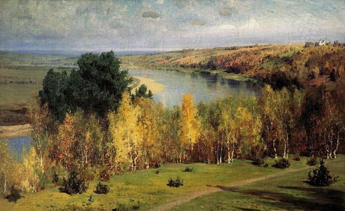 Василий Поленов. Золотая осень