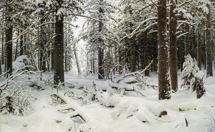Иван ШИШКИН. Зима