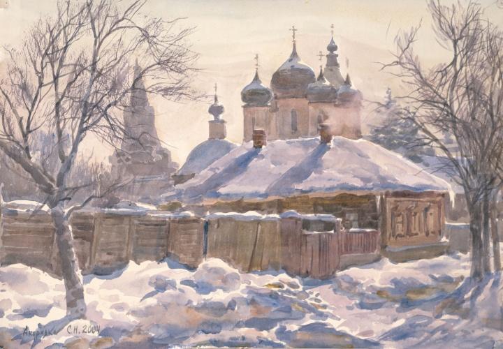 Сергей Андрияка. Серпухов. Морозный полдень